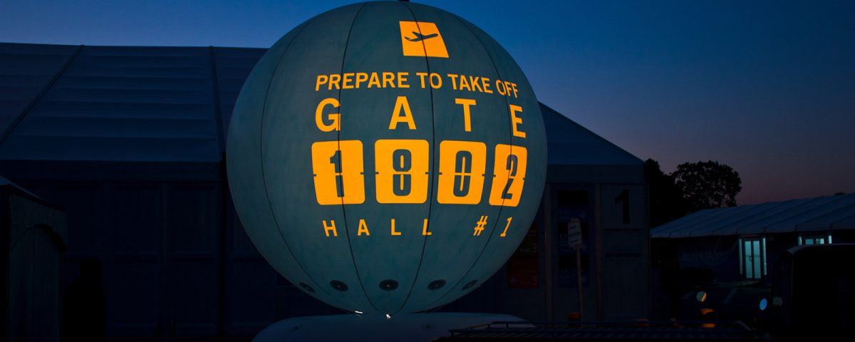 Leuchtballons versprühen durch ihr verschiedenfarbiges Licht immer einen eigenen, besonderen Charme.