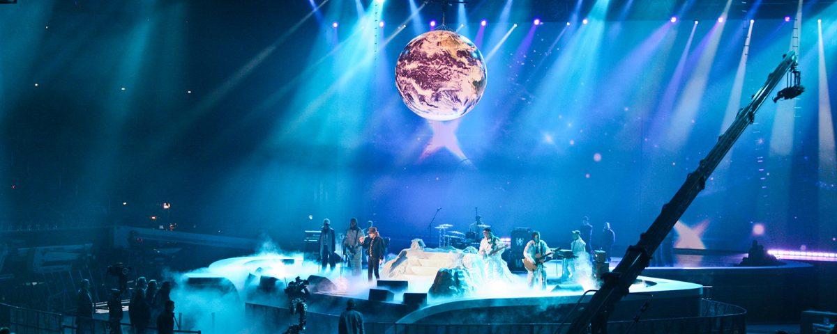 Auch für Bühnenbilder sind Helium-Leuchtballons stets etwas besonderes.
