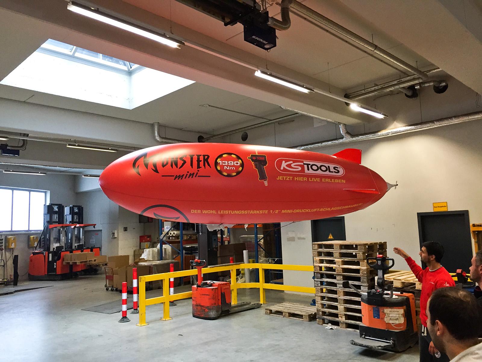 Full-Body-Print-Luftschiff BZ320 für KS-Tools