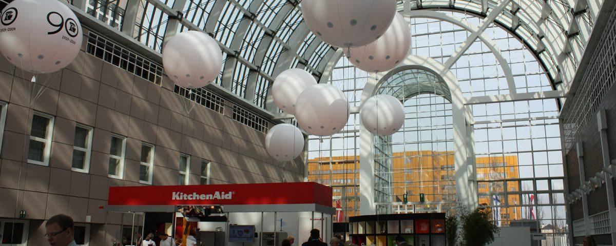 diverse Messeballons für Kitchen Aid
