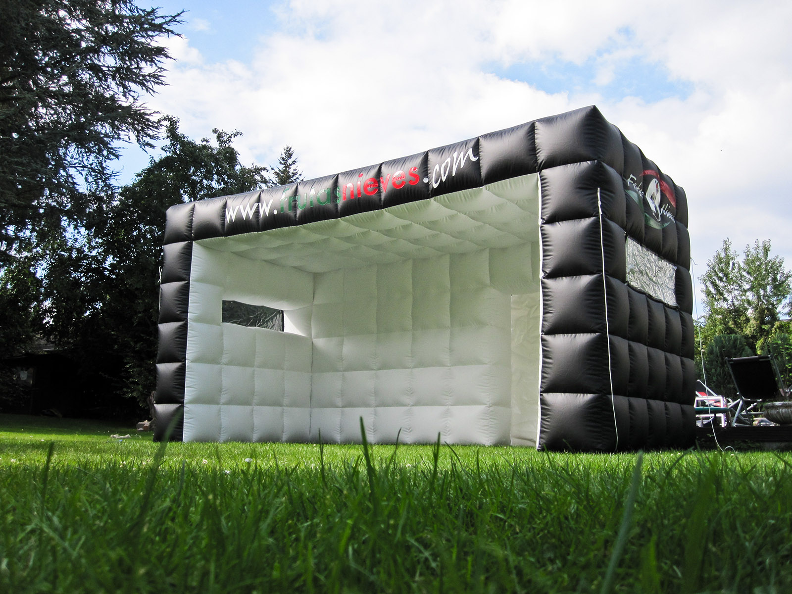 aufblasbares Riesenzelt - aufblasbare Bühne - Quaderzelt