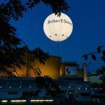 Leuchtballon Citywerbung