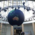 ITB - Globus-Ballon mit 5 m Durchmesser