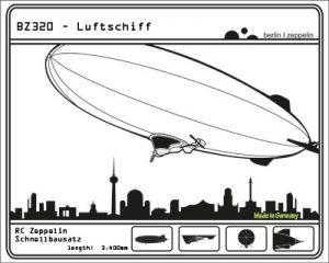 Luftschiff-Bausatz BZ320
