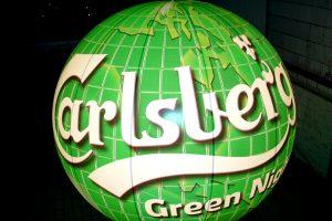 Das fertige Produkt. In diesem Fall Ballone mit Innenbeleuchtung mit 3m Durchmesser für eine Promotiontour.