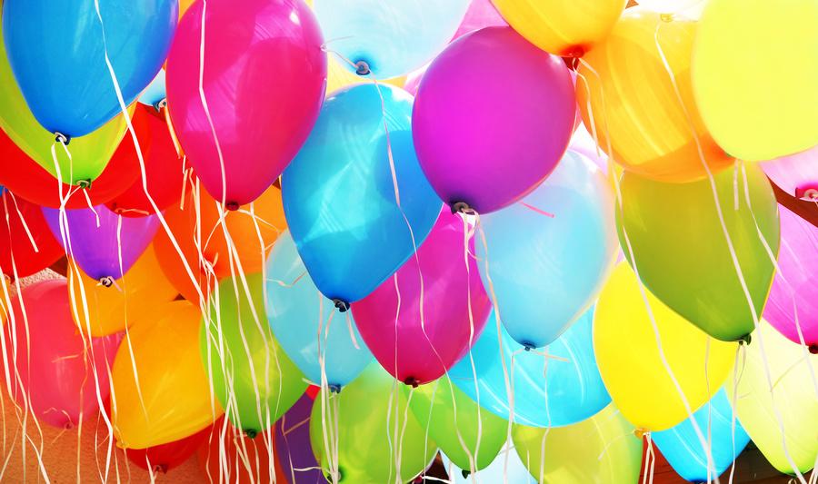 Helium und Ballongas
