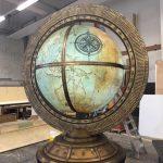 aufblasbarer antiker Globus