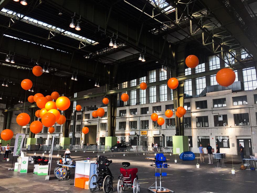 Ballongas für Firmenveranstaltungen