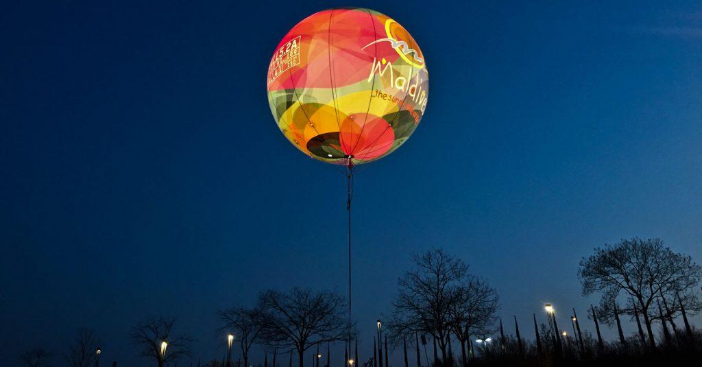 Bedruckter-Leuchtballon