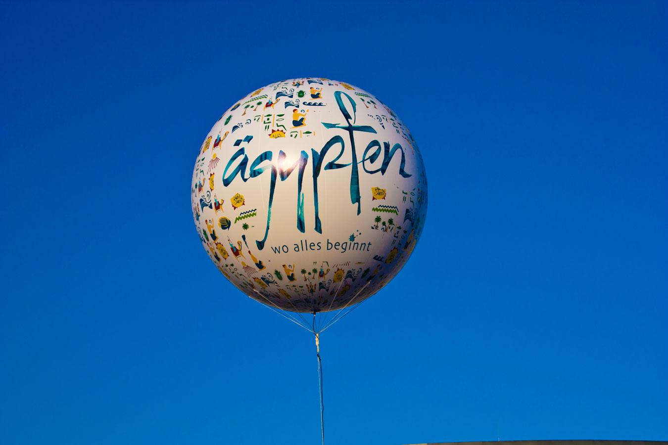 Digitalbedruckter Fesselballon, Volldruck 3m Durchmesser