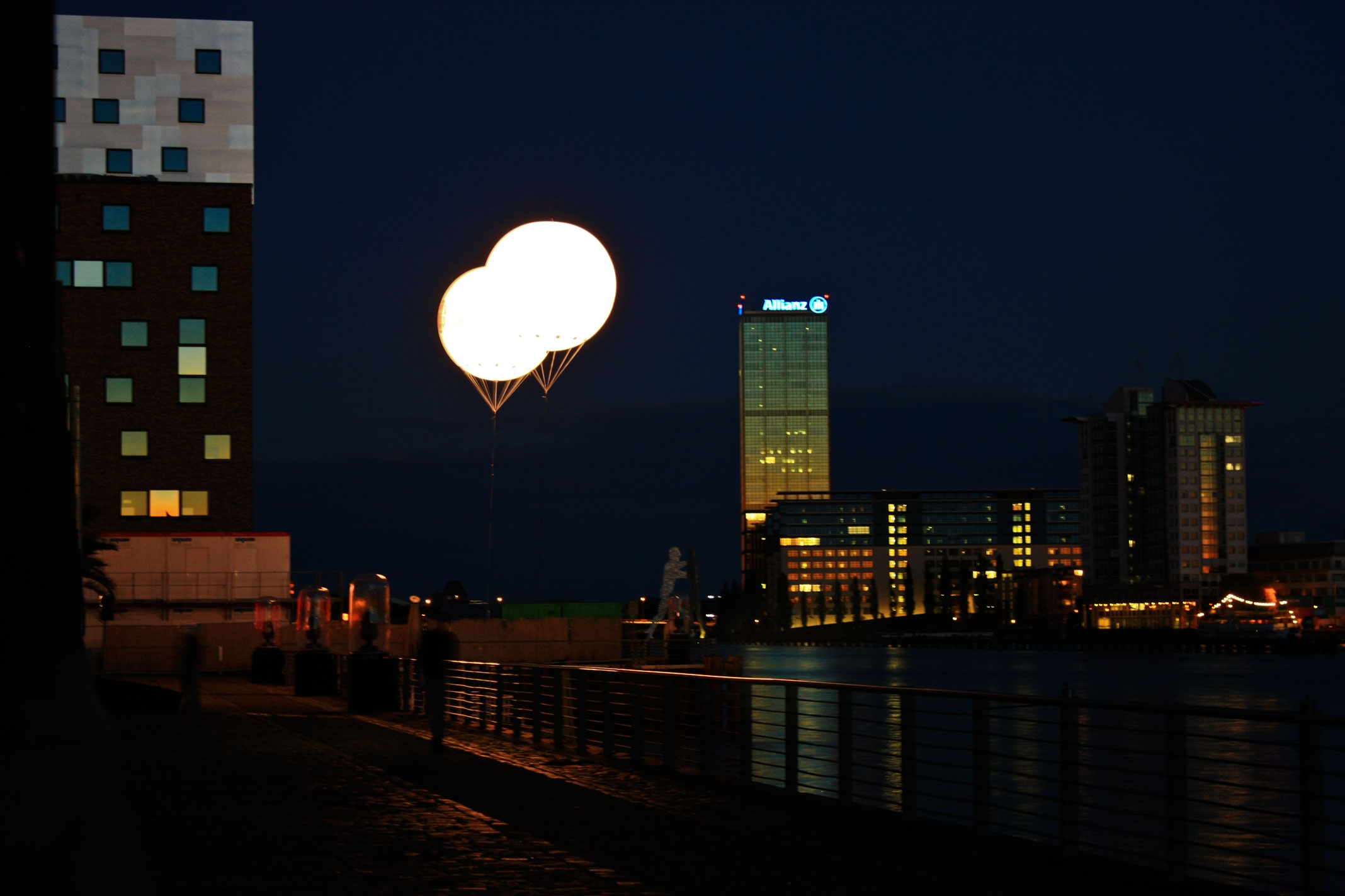Leuchtballons-Helium
