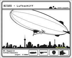 Luftschiff-Bausatz,-RC-Luftschiff