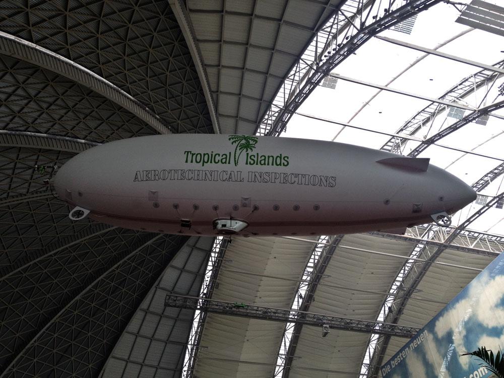 RC-Luftschiff mit Kamera und Bildfunk