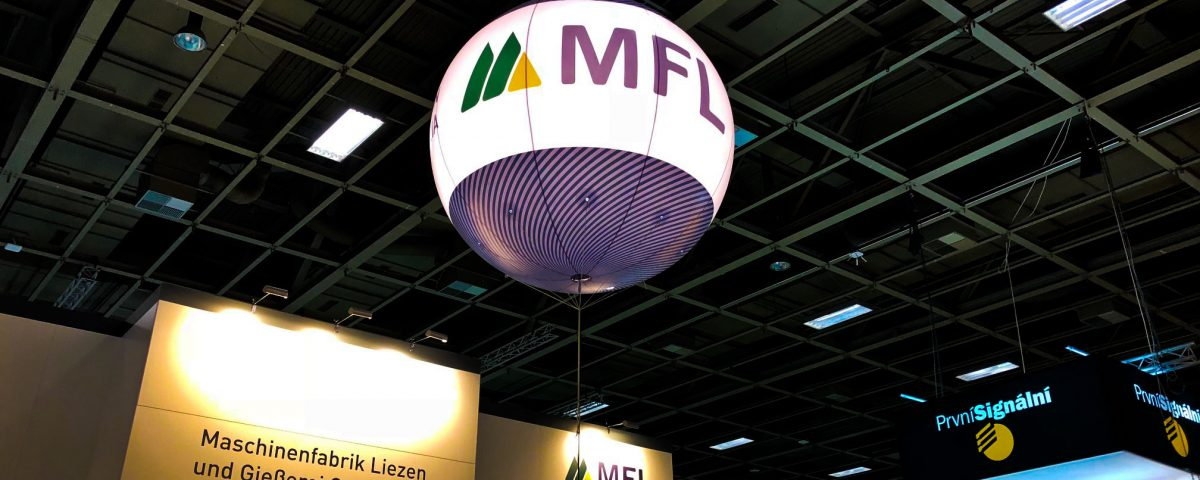 Messeballon, LED beleuchtet, Indoor
